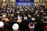 بیانات در دیدار مسئولان نظام و میهمانان کنفرانس وحدت اسلامى