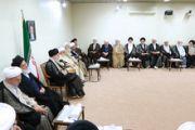 بیانات در دیدار رئیس و اعضای مجلس خبرگان رهبری